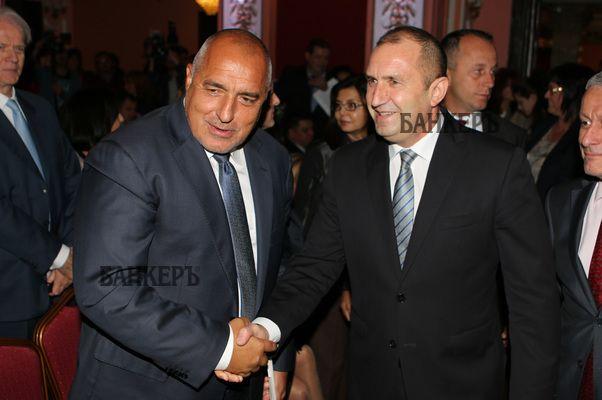 Президент и премиер се изравниха по рейтинг – на Радев пада, на Борисов се качва