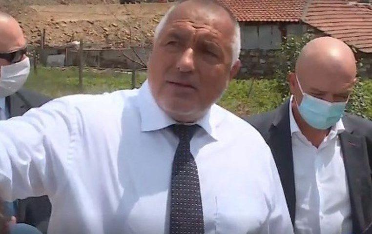 Борисов инспектира спешно мястото на инцидента: Господ ги спаси!