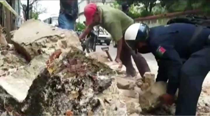 Земетресение 7,5 по Рихтер разлюля Мексико (ВИДЕО)