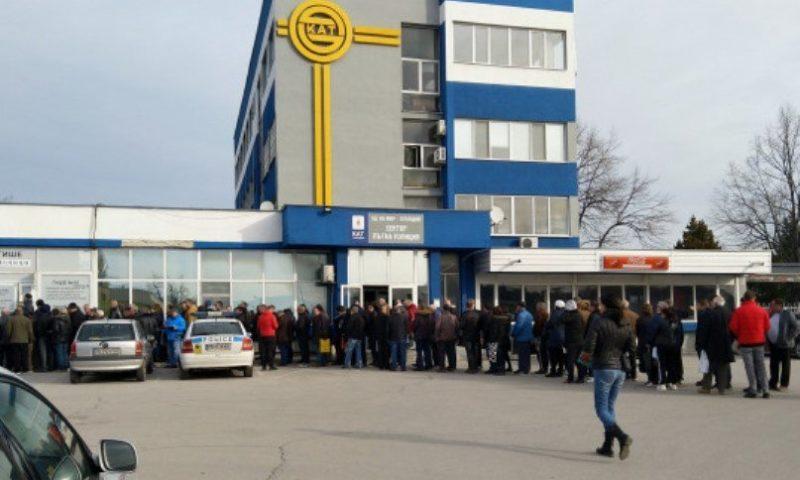 Най-сетне! Системата в КАТ-Пловдив тръгна