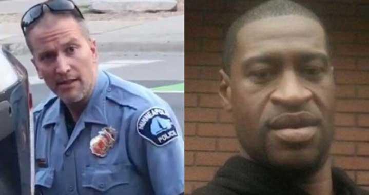 1,25 милиона долара гаранция за Дерек Човин, убил чернокожия Джордж Флойд