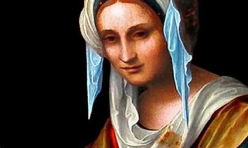 Красиви имена черпят днес за светица, извършила чудо с лицето на Спасителя
