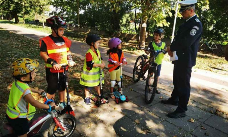Полицията учи децата на безопасно лято