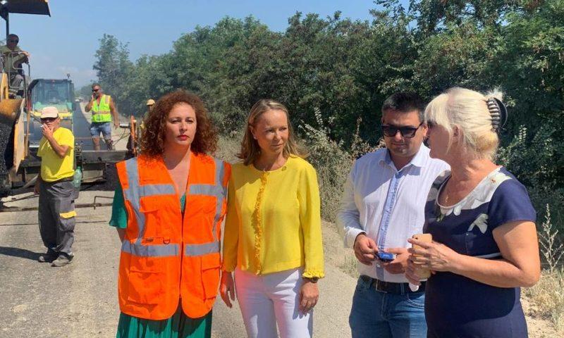 Ремонтът на пътя за Хисаря приключва предсрочно в средата на август