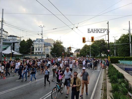 Антиправителствени протести за четвърта вечер в София