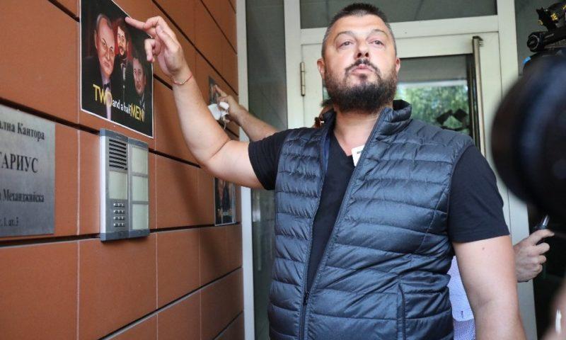 """Бареков опита да влезе в сградата на """"Да, България"""""""