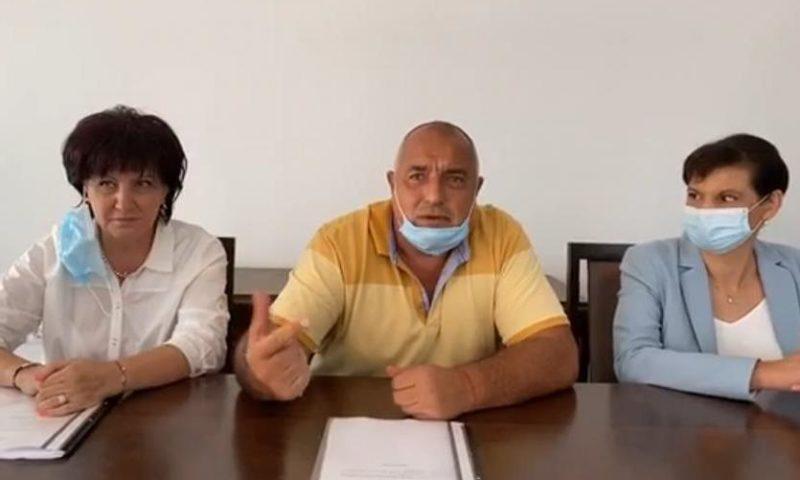 Борисов: Само с ВНС ще избегнем катастрофата на държавата