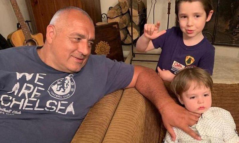 Борисов с внуците: Време за техните усмивки и моите решения!