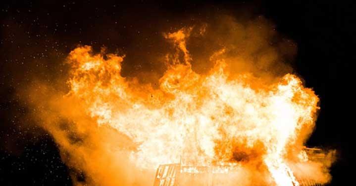 Експлозия на пристанището в Хераклион на остров Крит
