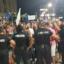 Напрежение в Пловдив: Протестиращи пробиха кордона на полицията, шестват по улиците/СНИМКИ/