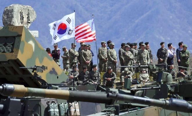 САЩ и Южна Корея провеждат военни учения другата седмица