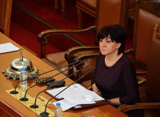 Цвета Караянчева: Проектът на ГЕРБ за нова конституция не е окончателен