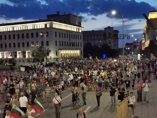 Оставката на правосъдния министър няма да промени нищо, твърдят граждани в 49-ия ден на протести