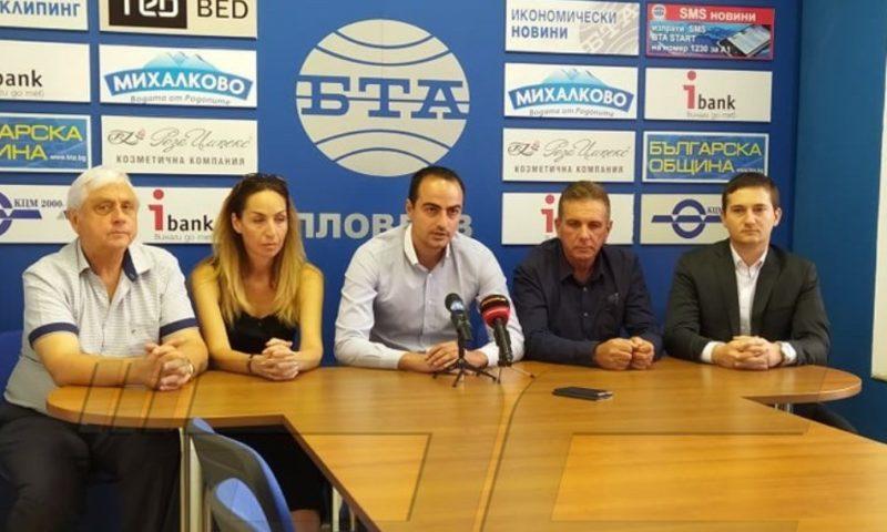 Над 300 от Пловдив и областта се отцепват от СДС, отиват при Цветанов