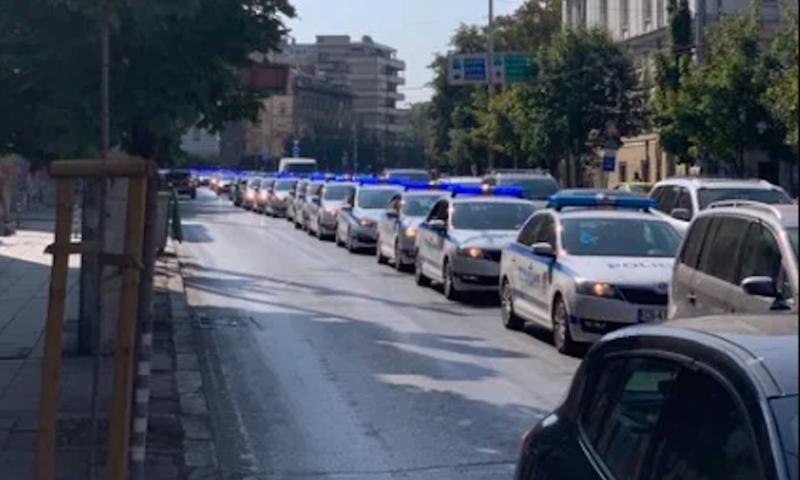 """Столицата гъмжи от полиция, готвят се за """"Велико народно въстание 3"""""""