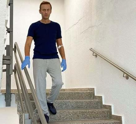 Навални разказа как се чувствал в началото на лечението си