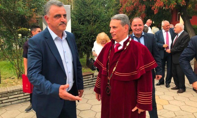 Кметът на община Марица– гост на откриването на учебната година в УХТ