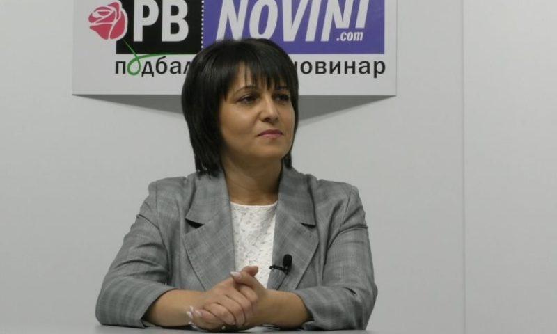 Народният представител от БСП Веска Ненчева с политически анализ пред ПБ Новинар/ВИДЕО/