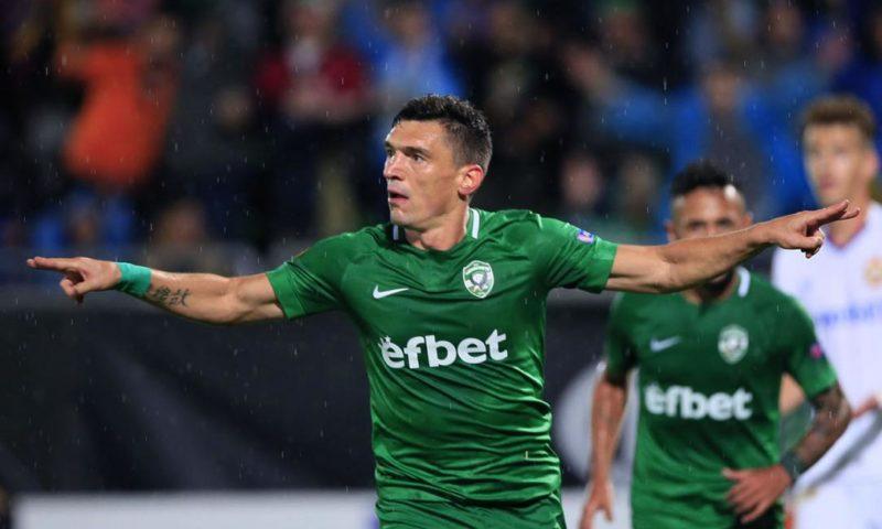 УЕФА отдаде чест на голмайстора на Лудогорец (ВИДЕО)