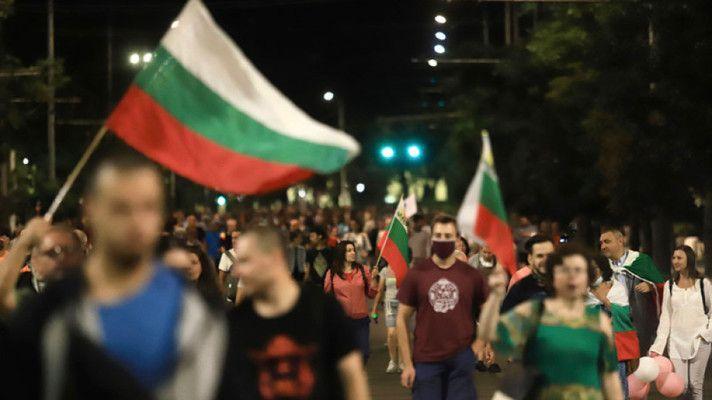 """Протестиращите в София блокираха бул. """"Цар Освободител"""""""