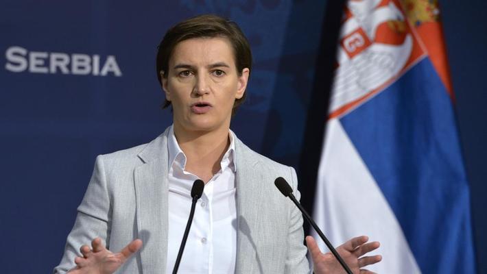 Ана Бърнабич обяви имената на министрите в новото сръбско правителство