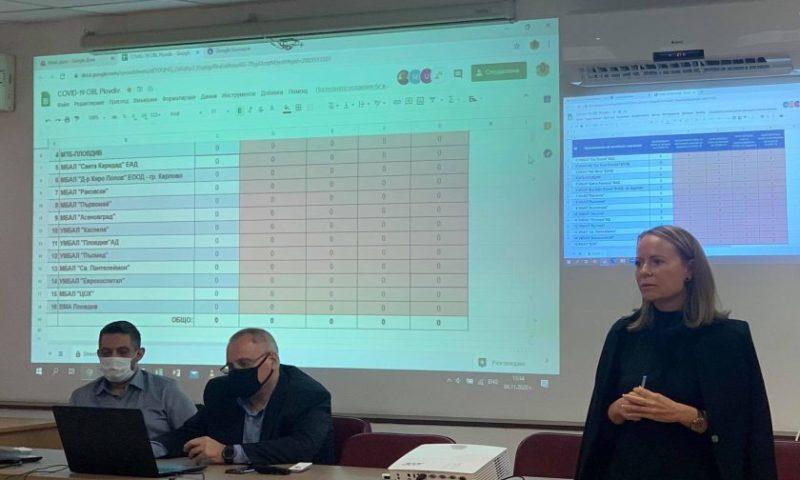 Онлайн система между Спешна помощ и болниците в областта в реално време показва свободните легла за COVID-19