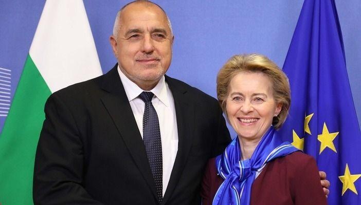 Бойко Борисов и Урсула фон дер Лайен са разговаряли по телефона