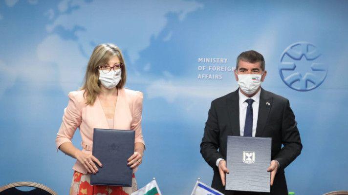 Екатерина Захариева потвърди стратегическите отношения между България и Израел