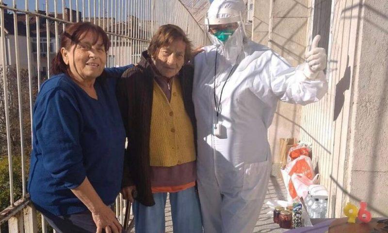 96-годишна софиянка пребори Covid-19 навръх рождения си ден