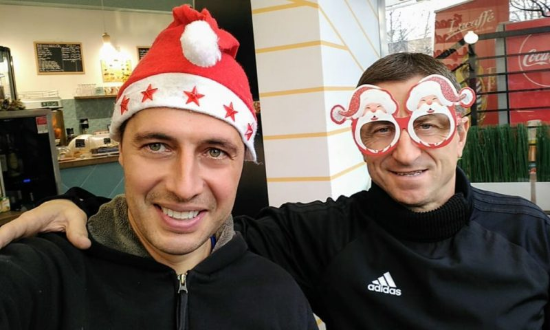 Легенда на ЦСКА и Кирил Евтимов изненадаха приятно футболни таланти в Нигерия (ВИДЕО)