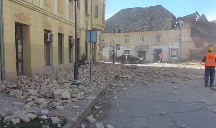 Земетръсите не спират! Петриня се раздруса и през нощта няколко пъти