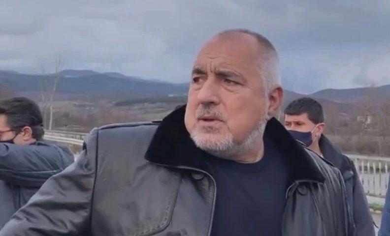Борисов видя потопа в България и се ядоса: От жълтите павета е лесно да коментираш