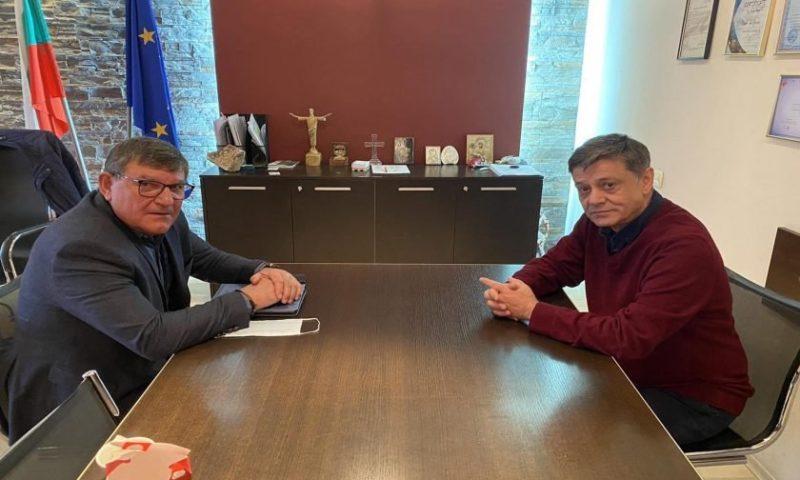 Народният представител ген. Константин Попов проведе срещи с осем общински кмета в област Пловдив