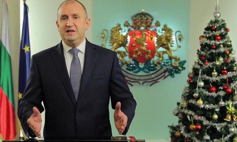 Новогодишната реч на президента Румен Радев – с настроение за протест