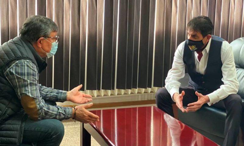 Областният координатор Георги Мараджиев се срещна с кмета на Брезово Христо Енков
