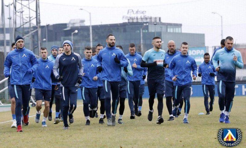 Последна тренировка за Левски преди заминаването за Хърватия (ВИДЕО)