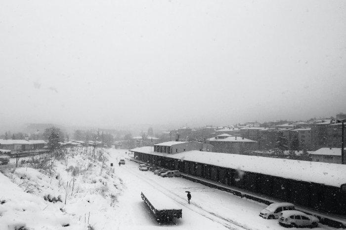 Сняг и студ в Турция