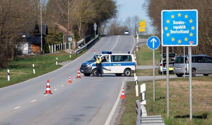 Германия въвежда по-строги гранични проверки заради коронавируса