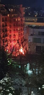 """Малък пожар гори край бул. """"Арсеналски"""""""