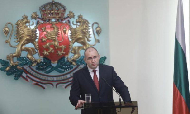Румен Радев ще се кандидатира за втори мандат