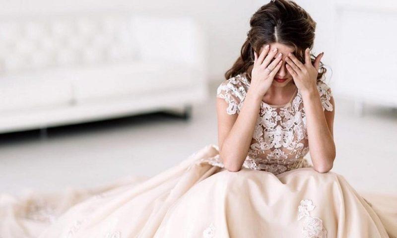Булка си поплака на сватбата и умря
