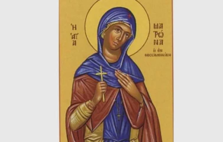 Почитаме днес чудна светица, извършила подвиг в името на Христос