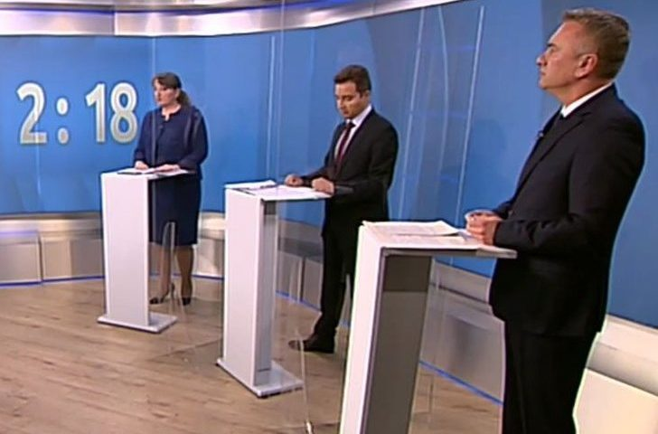Предизборни дебати: Сблъсък между ГЕРБ, БСП, ДПС