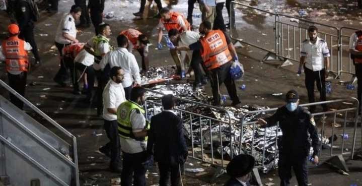 Най-малко 44 души загинаха по време на поклонение в Израел