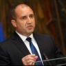 Президентът Румен Радев връчва мандата на ГЕРБ-СДС