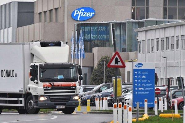 Пфайзер поиска от ЕС разрешение за ваксината си за над