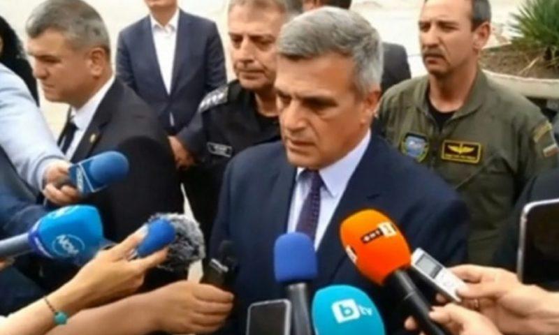 Янев за инцидента край Шабла: Надеждите за намирането на нашия пилот не са големи
